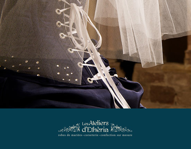 stylisme créatrice modéliste corset robes mariée mariage