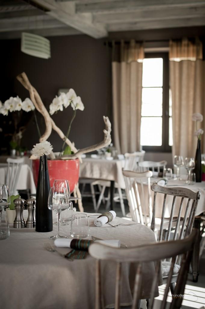 photo restaurant auberge du château aveyron gastronomie