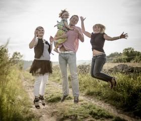 Franck Tourneret Photographe Photos de Famille - Lola - Aveyron