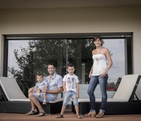 Aurélie, Julien, Evan et Ronan - Franck Tourneret Photographe P