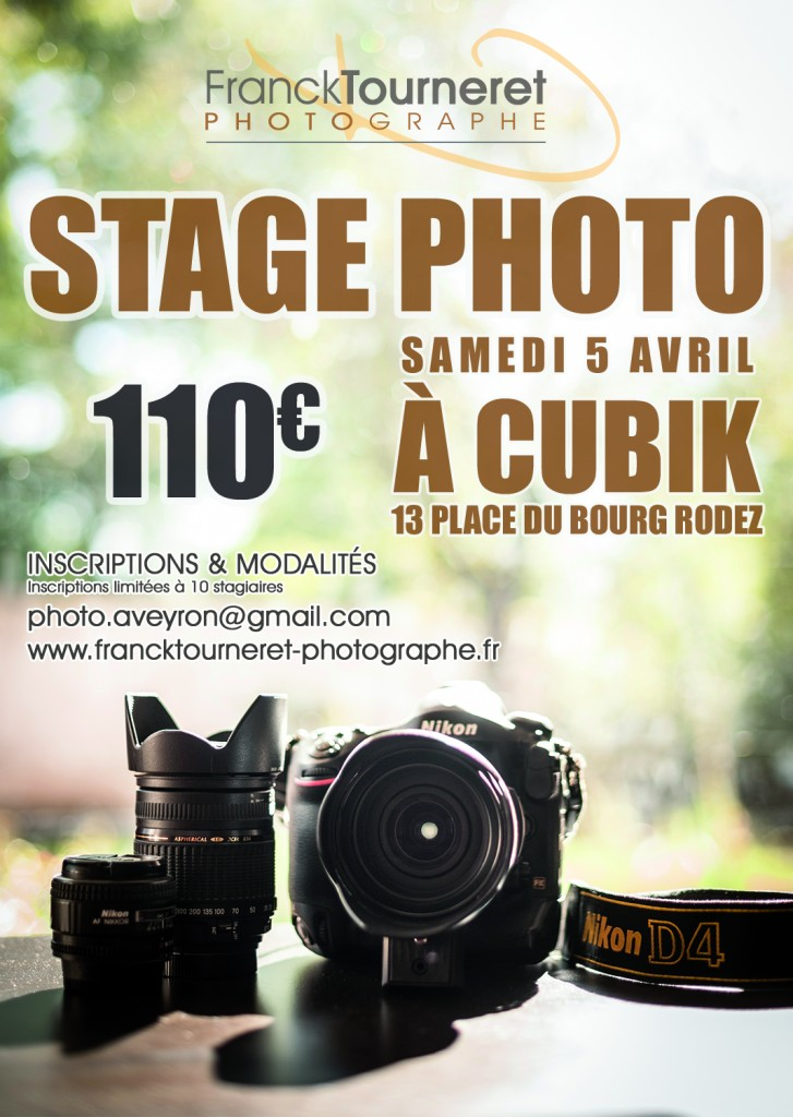 stage photo rodez aveyron Franck Tourneret Photographe
