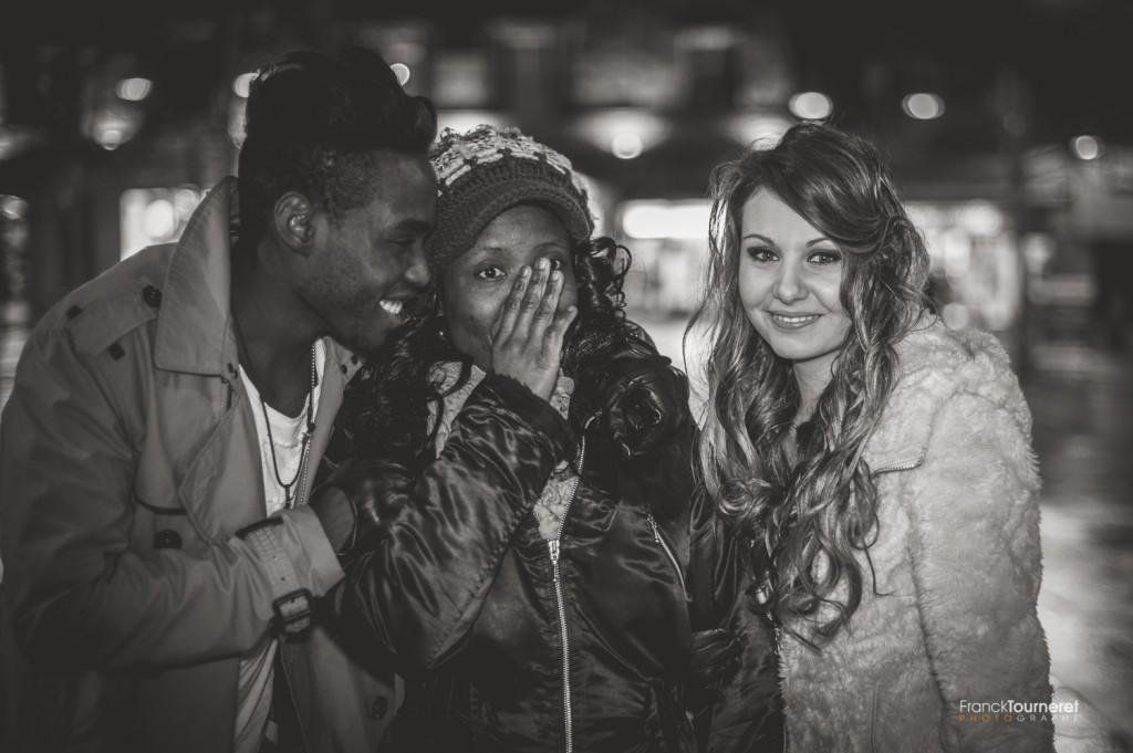 Romance et Cigarettes Coulisses du shooting par Franck Tourneret avec Stéphane Ze Abudu, Morgane Allichon et Sylvie Noyer Hair Artist