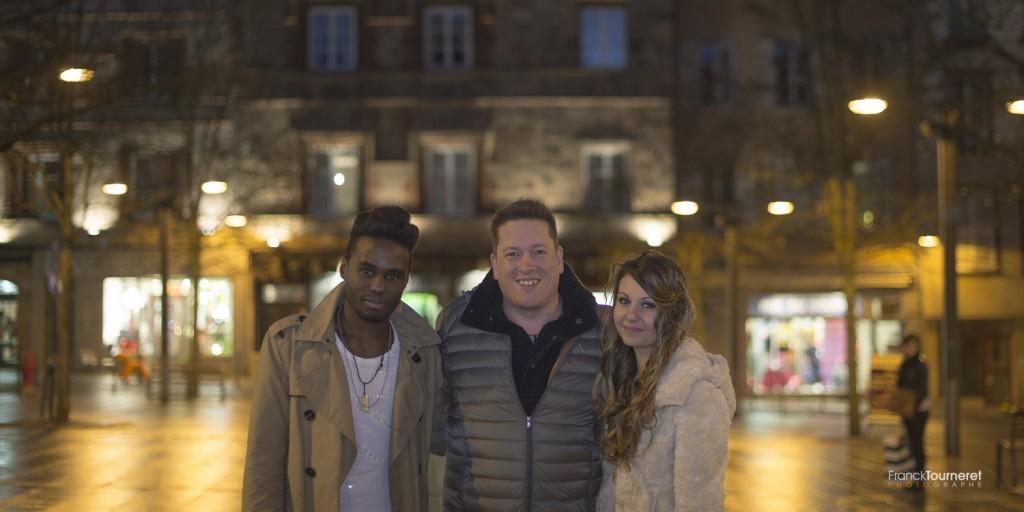 Romance et Cigarettes Coulisses du shooting par Franck Tourneret avec Stéphane Ze Abudu et Morgane Allichon