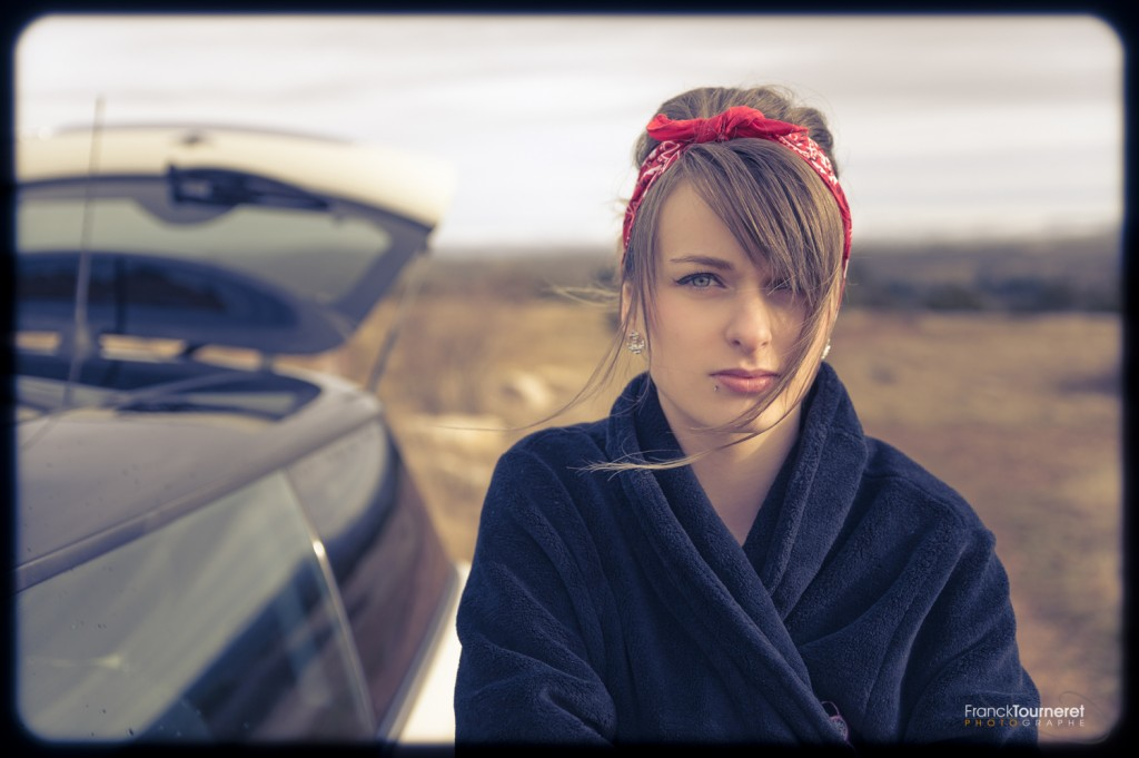 Pin-Up Cola Mini Rover Tattoo Anne-So Franck Tourneret Photographe Shooting