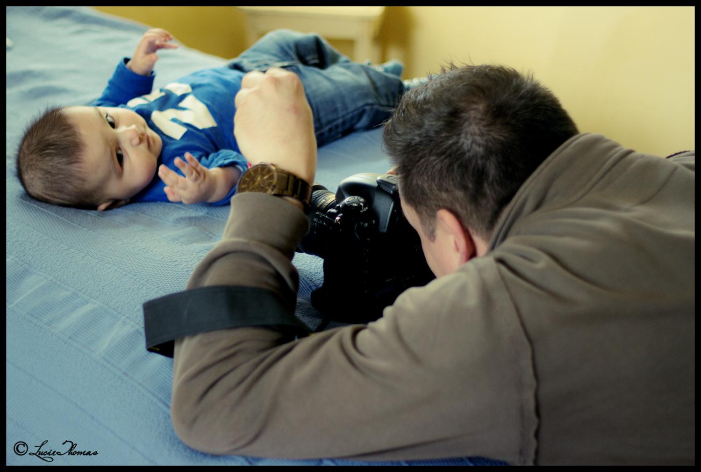 Dans les coulisses d'une séance photo avec un bébé