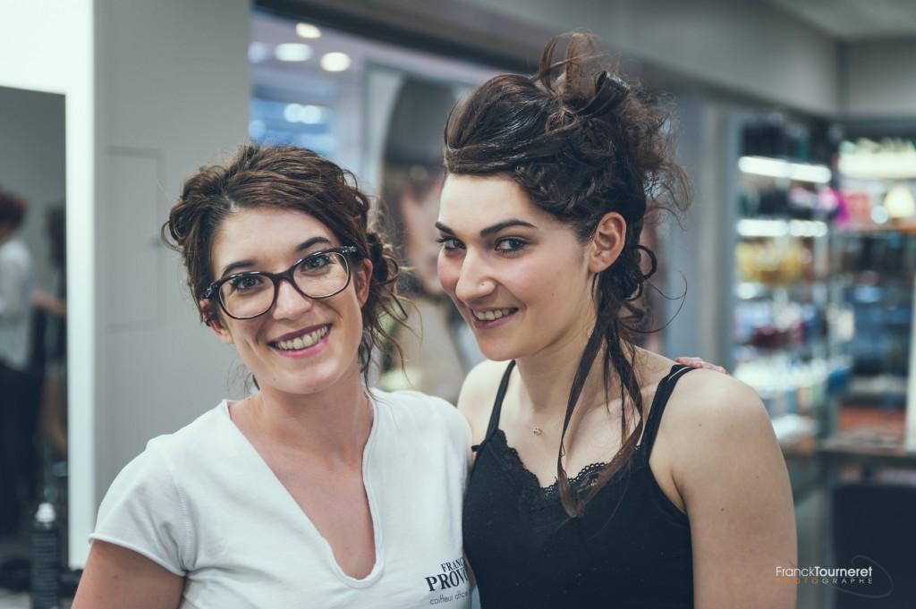 Alison Travers à la coiffure pour Racines Chapitre 2 : La Terre
