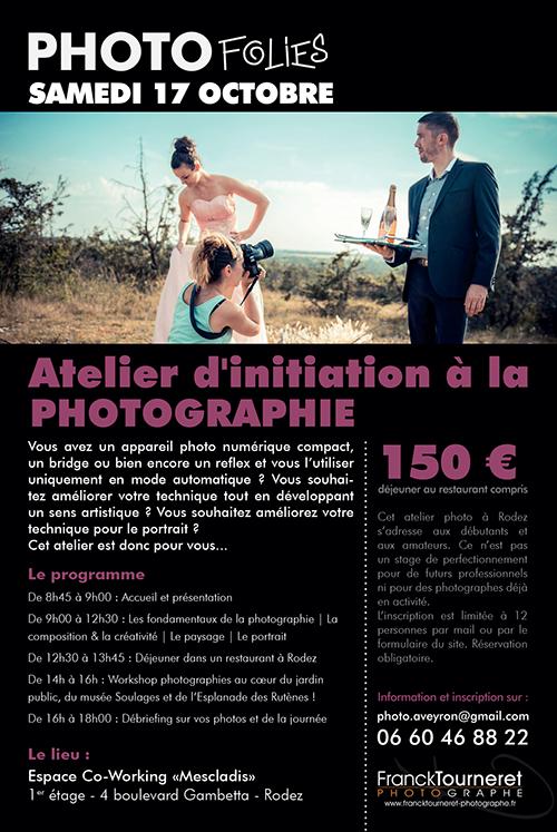 Stage photo Franck Tourneret Photographe Rodez
