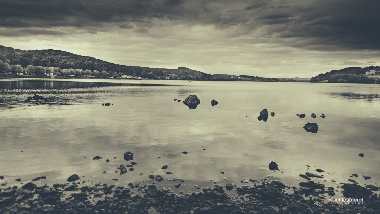 Le lac de Villefranche de Panat