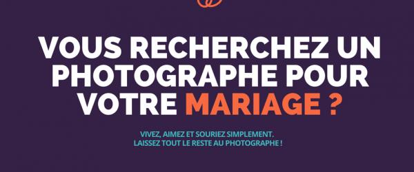 Vous recherchez un photographe pour votre mariage