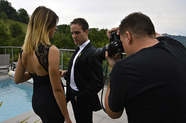 Hot Spot - Backstage - Photo de Christelle Minisclou.