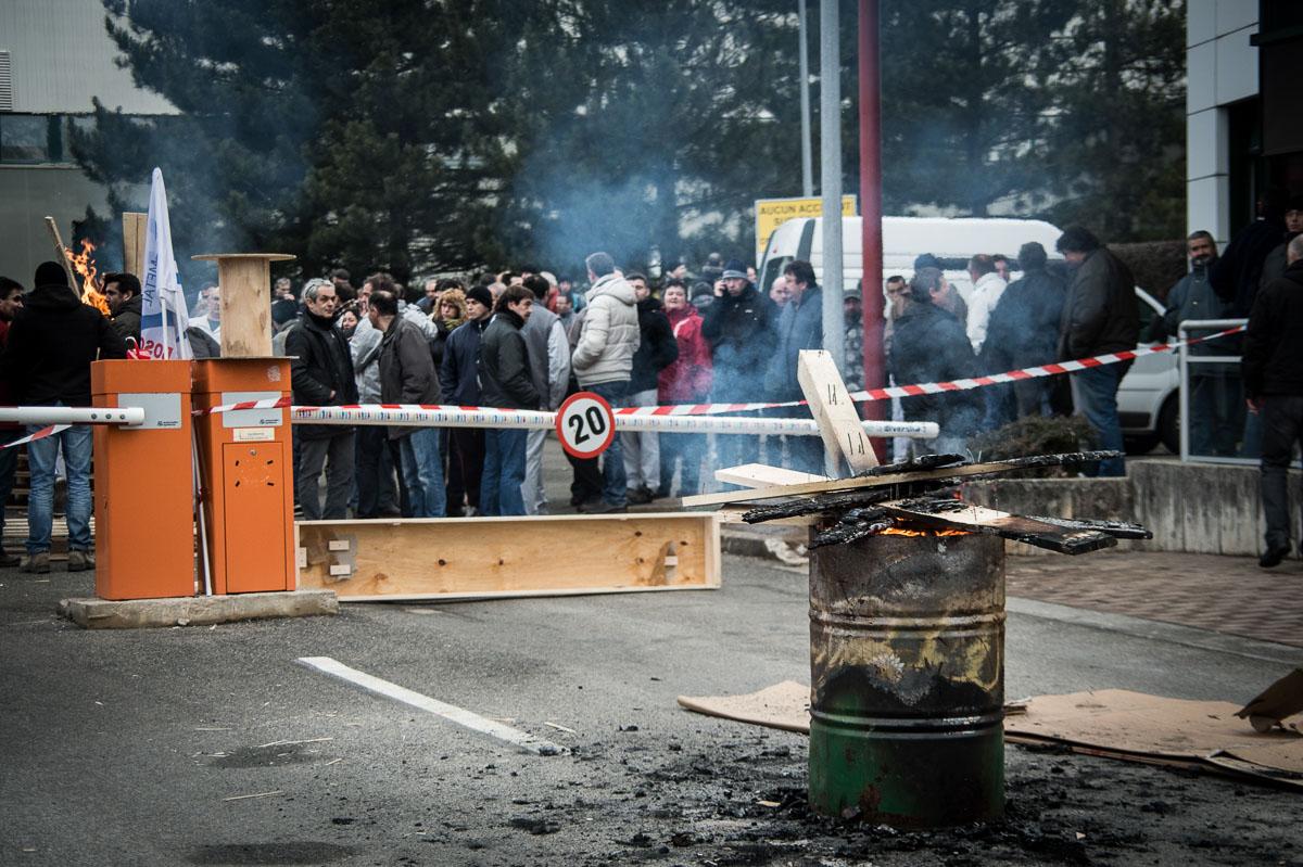Grève à la Bosch Rodez