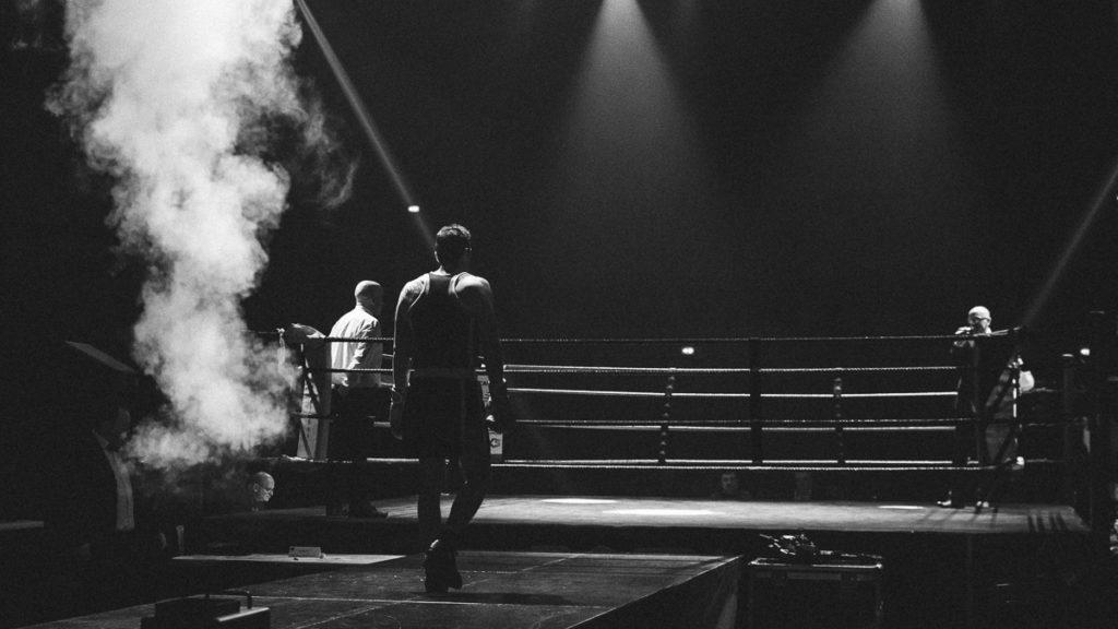 Photo Reportage Boxe Rodez par Franck Tourneret Photographe