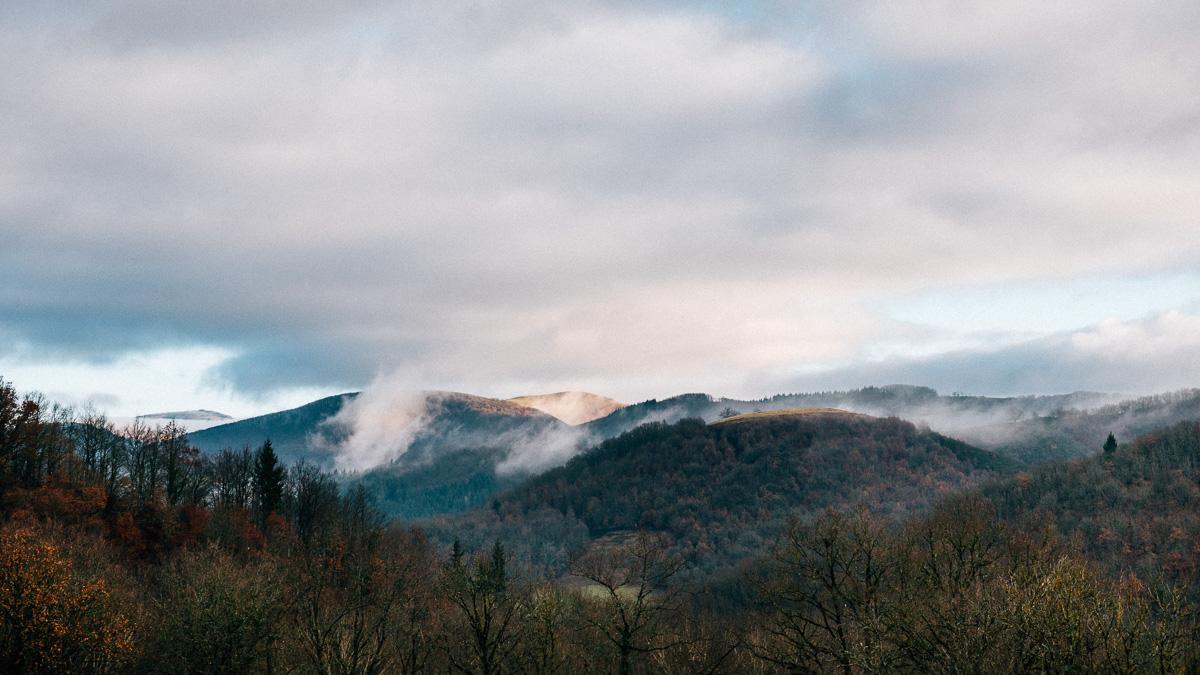 Al di là delle nuvole | Landscape | Vallée du Lot