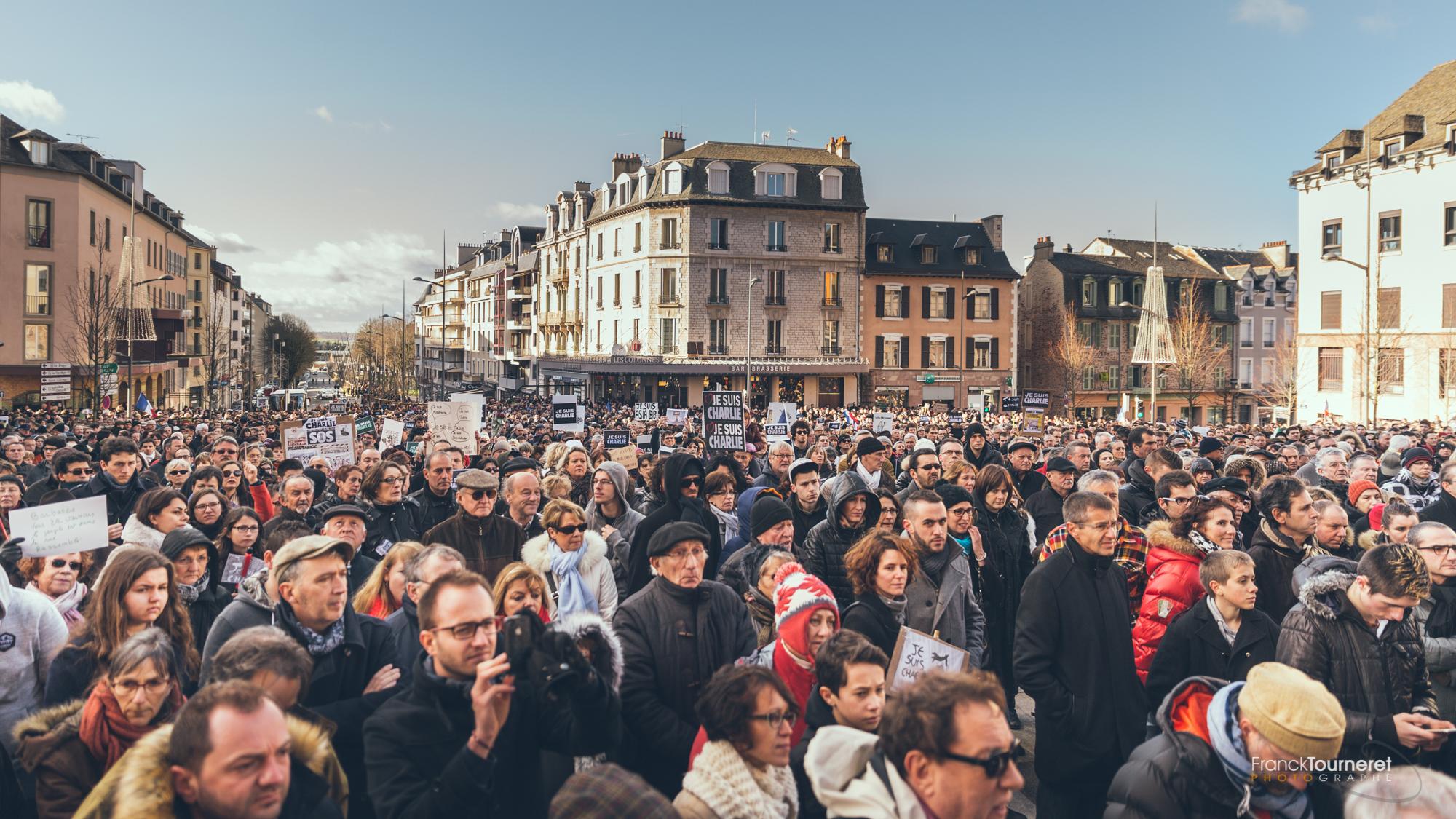 Je suis Charlie | Marche Républicaine à Rodez