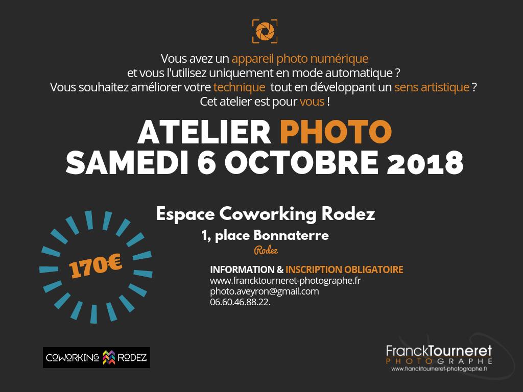 Atelier Photo Rodez avec Franck Tourneret Photographe