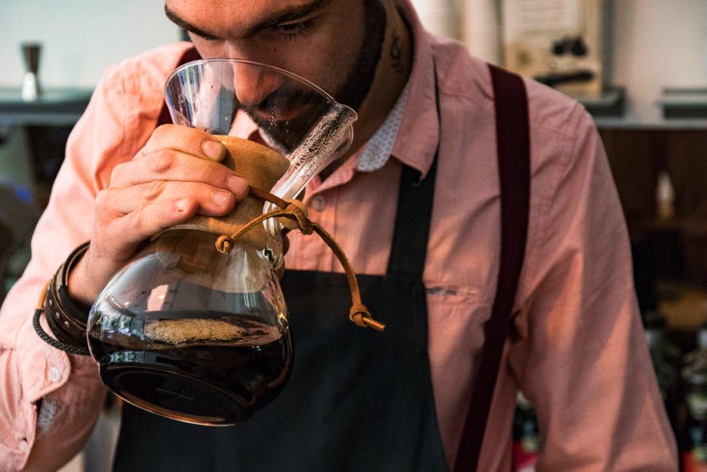 Le Barista : Kevin Grezes compositeur de café