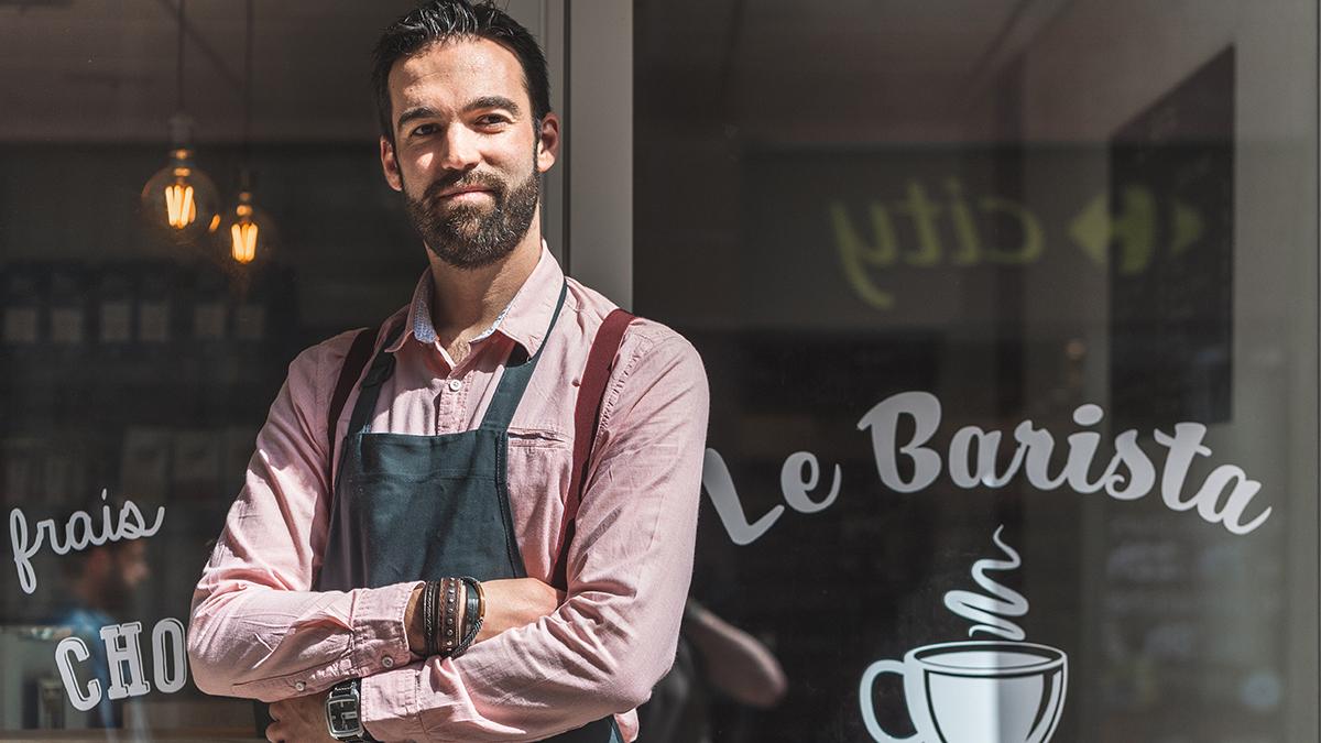 Le Barista : Kevin Grezes, compositeur de café