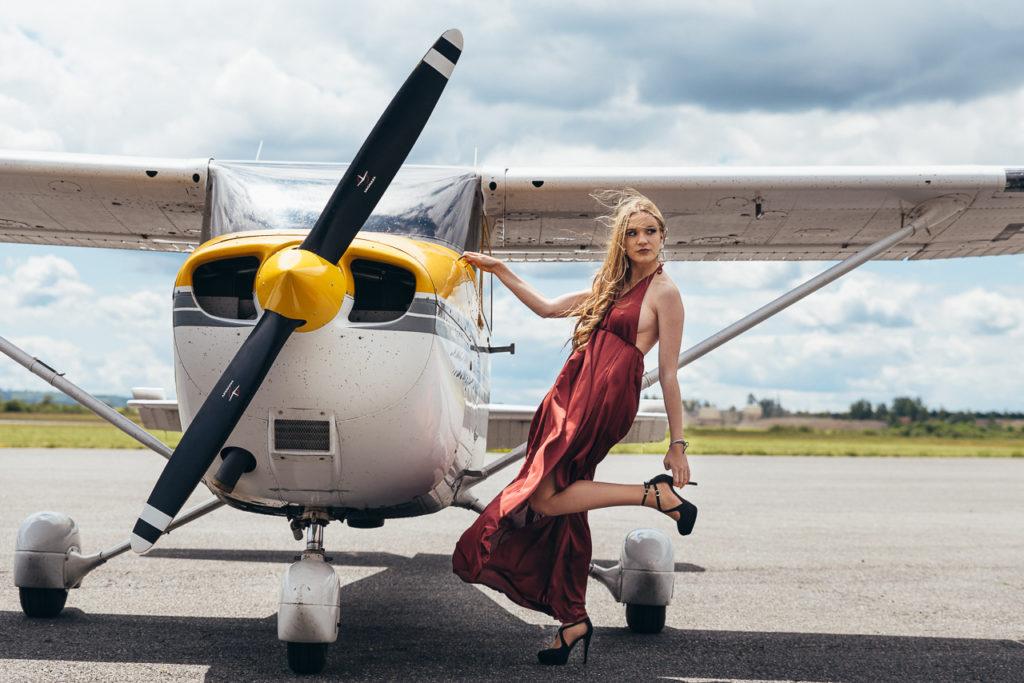 Tess - It's my Aeroplane - Shooting Franck Tourneret Photographe
