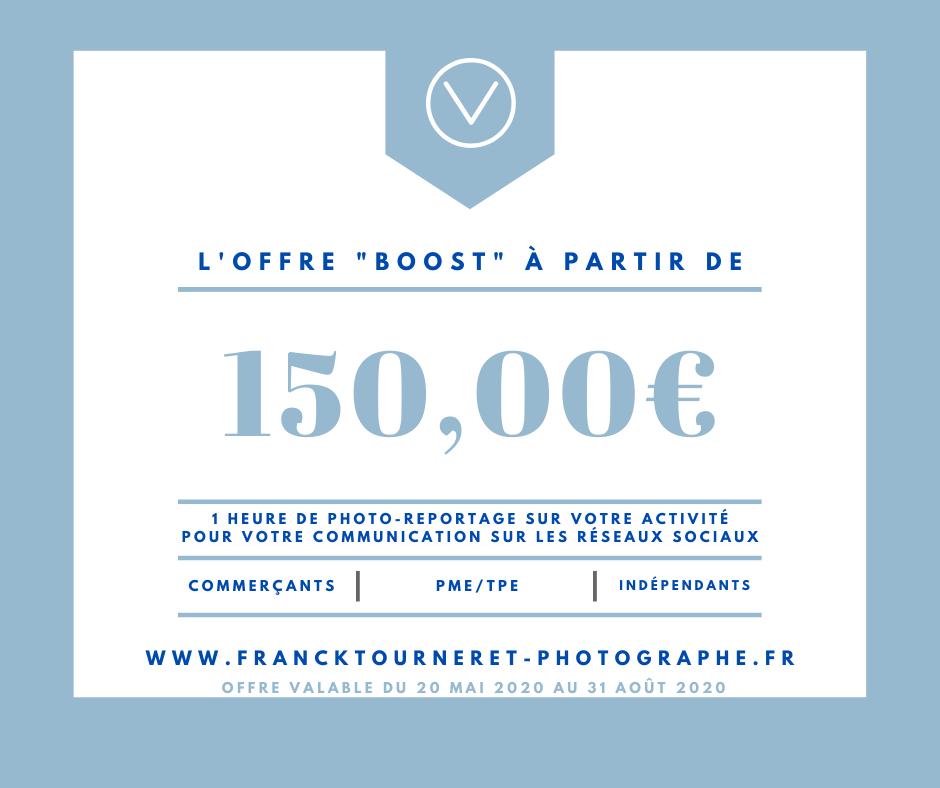 Offre Boost Photo Reportage pour les commerçants