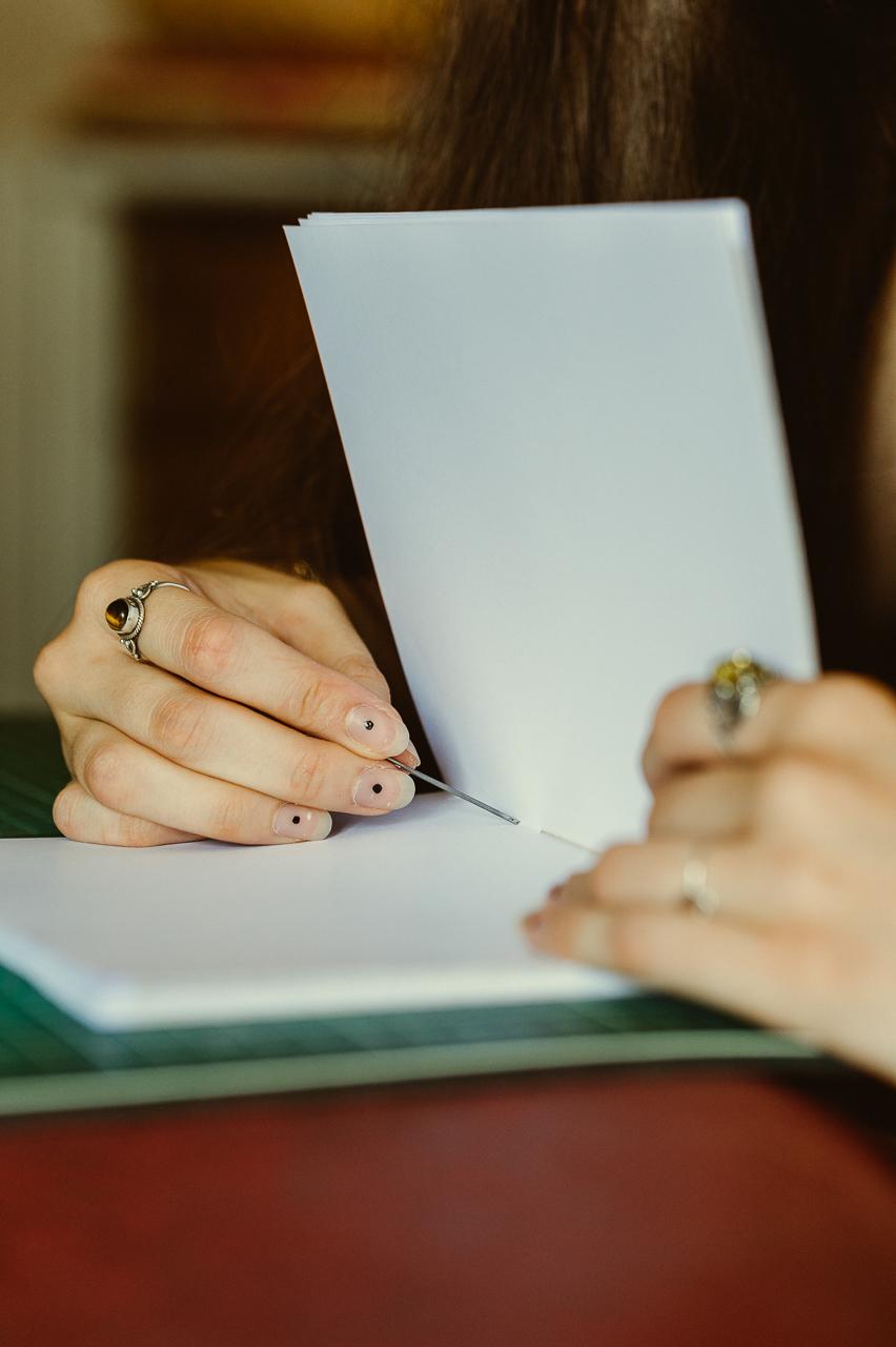 Kiranekris, création de carnets fait main