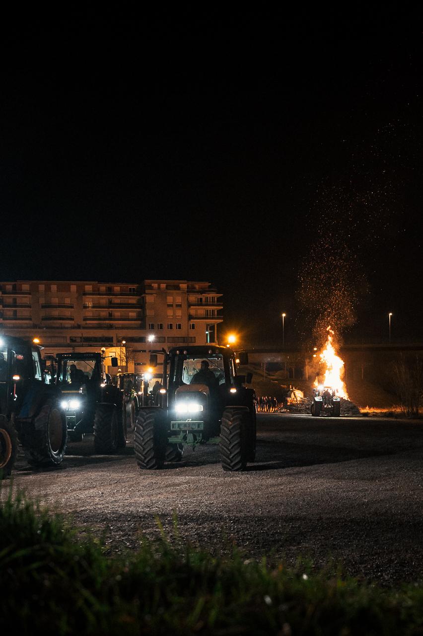 Agriculteurs : des feux pour alerter !