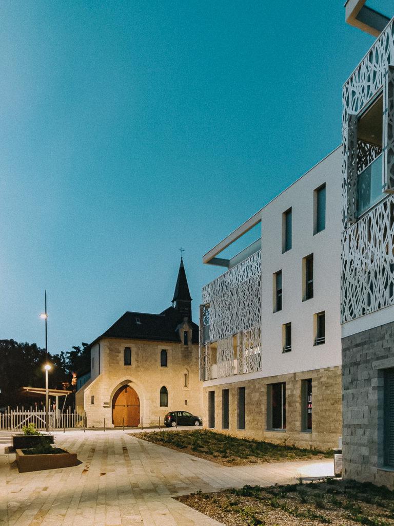Quartier Combarel - Rodez © Franck Tourneret